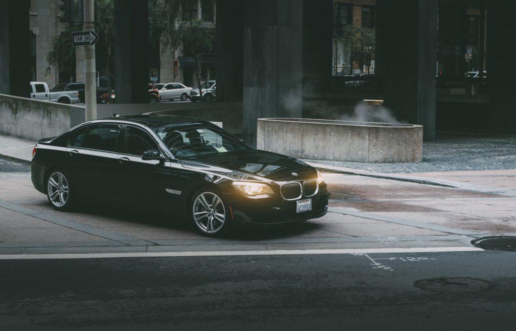 BMW Silver Service Taxi